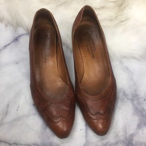 ⭐️5/$25 REGAL leather oxford heels jp24.5